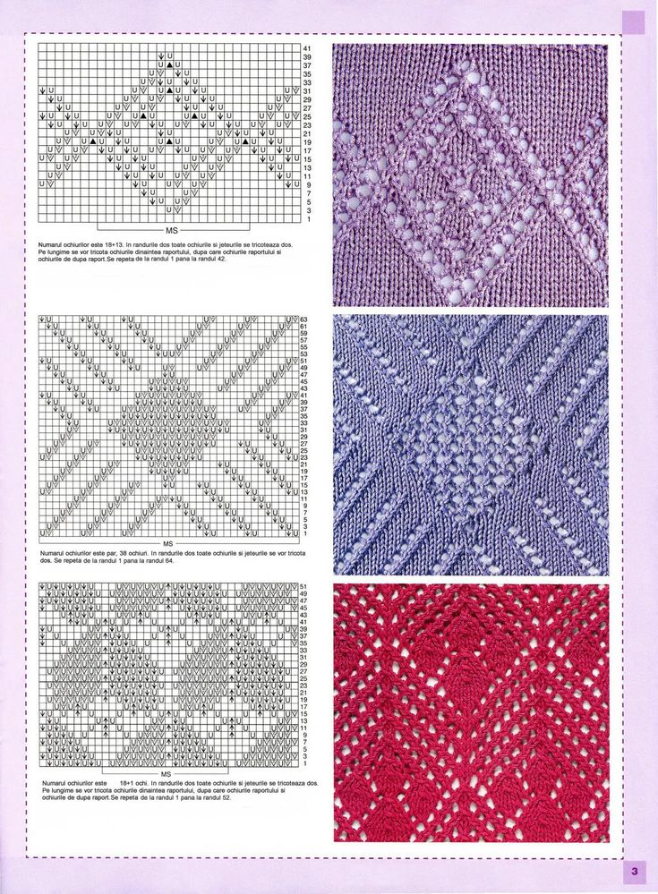 Modele de tricotat Senpolia