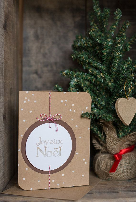 Carte de Noël : Joyeux Noël