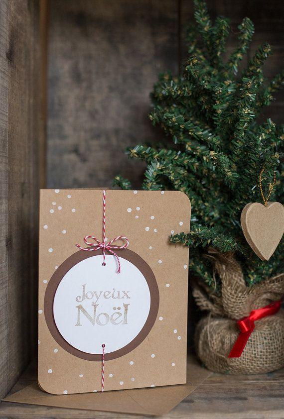 Carte de Noël : Joyeux Noël                                                                                                                                                                                 Plus