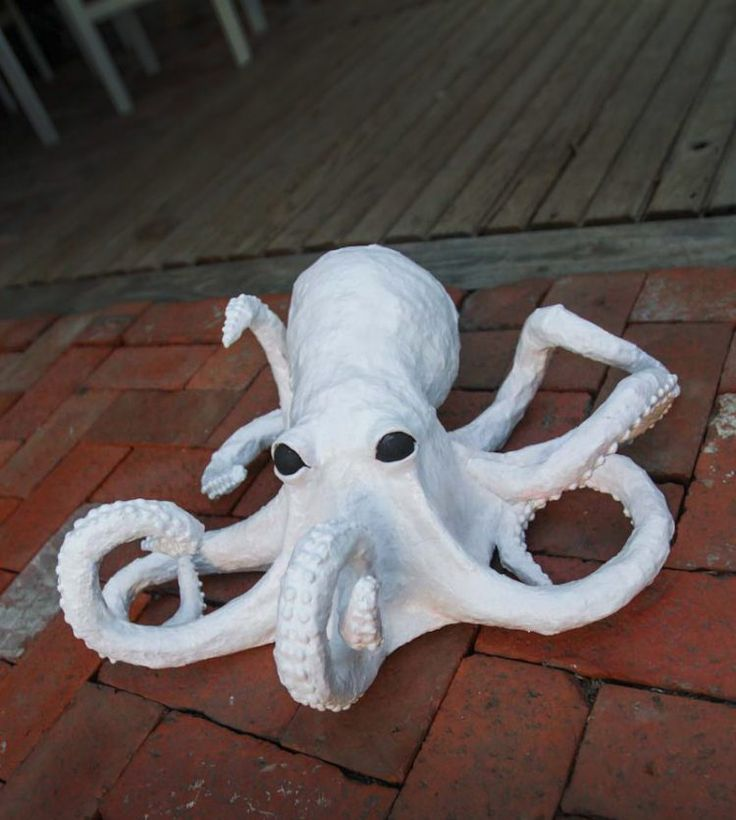 Paper Mache Octopus : Craft Tutorial