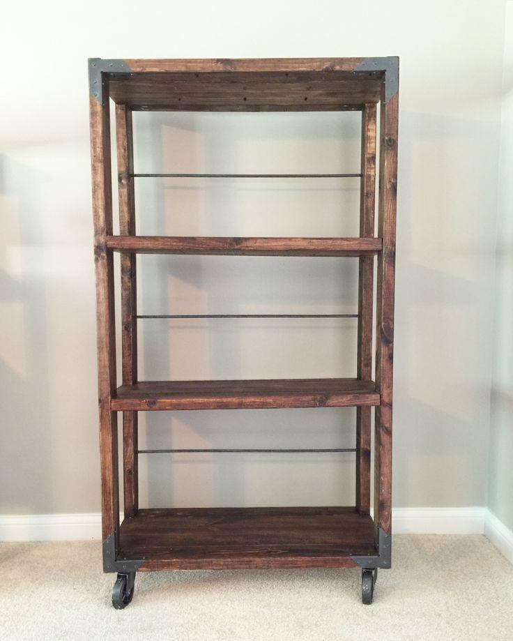 25+ best ideas about Industrial bookshelf on Pinterest  Pipe bookshelf, Diy industrial