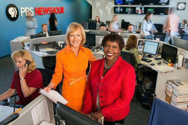 Judy Woodruff and Gwen Ifill, PBS Newshour revamp.