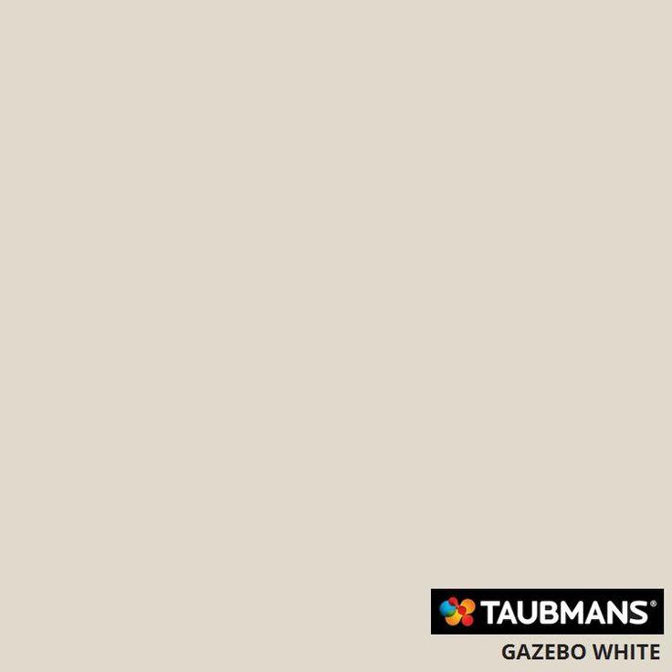 #Taubmanscolour #gazebowhite exterior cladding and Eve's