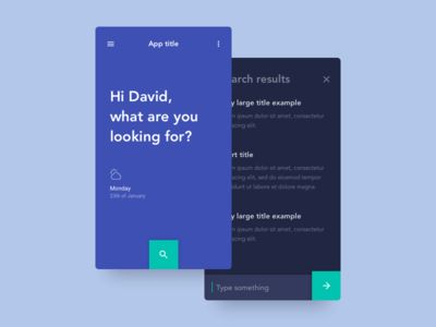 Daily UI #022 - Search by David Rodriguez
