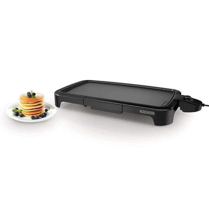 Amazon.com: BLACK+DECKER GD2011B Family Size Griddle, Black: Electric Griddles: Kitchen & Dining