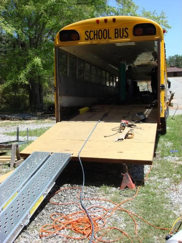 Is this a good idea, Toy hauler conversion already done - School Bus Conversion Resources