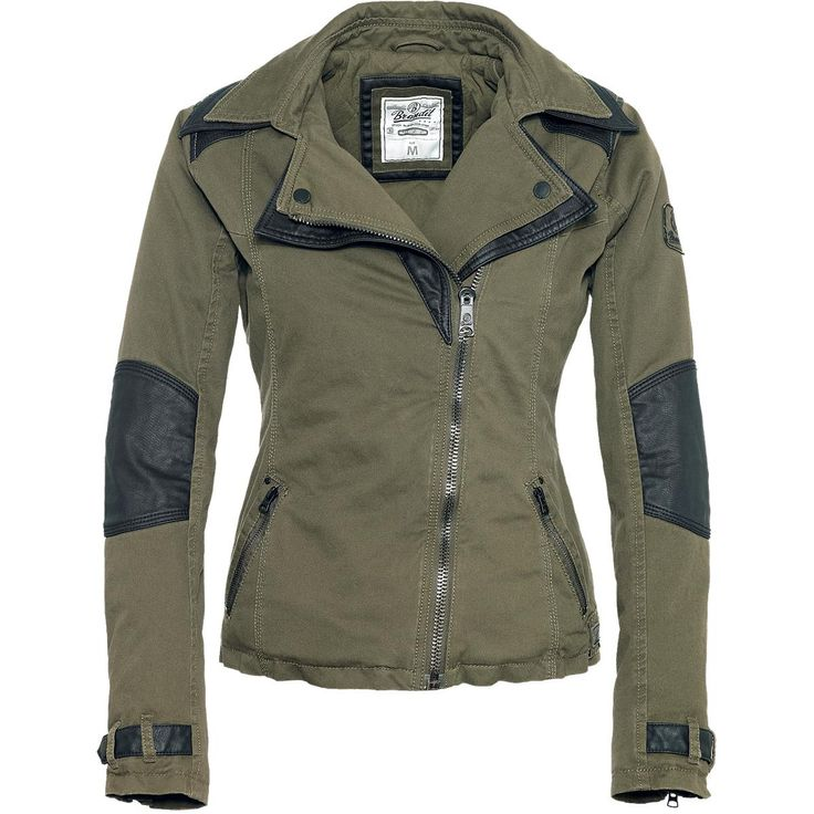 Ashley - Girls jacket by Brandit - Article Number: 255911 - from 105.99 € - EMP Merchandising ::: The Heavy Metal Mailorder ::: Merchandise ...