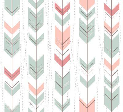 Aztec Arrows Art Print