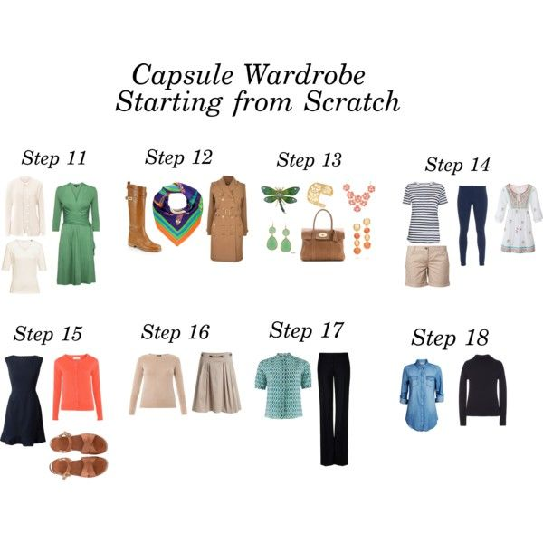 Capsule Wardrobe, Starting from Scratch by linnshem on Polyvore featuring Mode, Lipsy, Freda, J.W. Anderson, ONLY, FWSS, STELLA McCARTNEY, Burberry, TWINTIP and Splendid