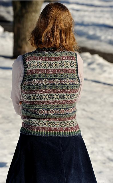 Ravelry: Jennipennis fair isle vest
