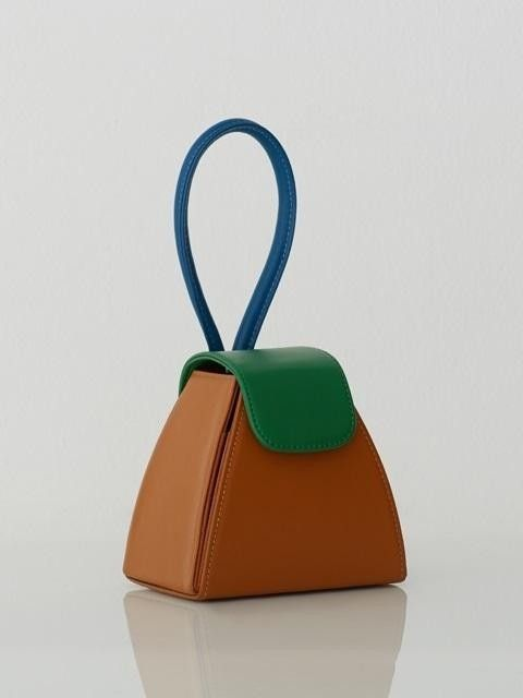 Color Block Handle Bag / Camel | Architect's Fashion