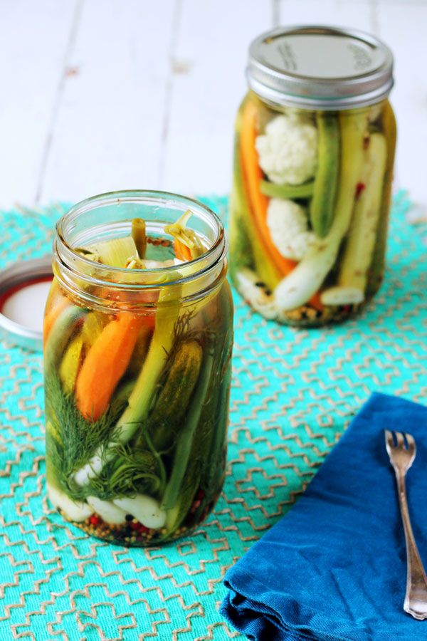 Pickled Vegetables – kitchenette... My kids love these and they are soooo easy! The hard part is waiting to eat them