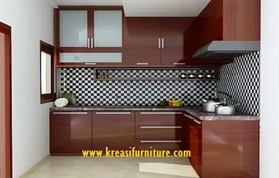 Minimalis Kitchen Set Natural merupakan kitchen set yang bergaya minimalis dengan bahan dasar MDF pilihan dengan kontruksi yang kuat dan tahan lama