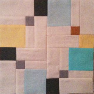 A Few Scraps: Double disappearing nine patch;  alternate to the standard rearrangement for this block