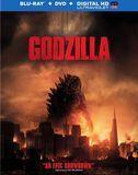 Godzilla [2 Discs] [Includes Digital Copy] [Ultraviolet] [Blu-ray/DVD] [Eng/Fre/Spa] [2014]