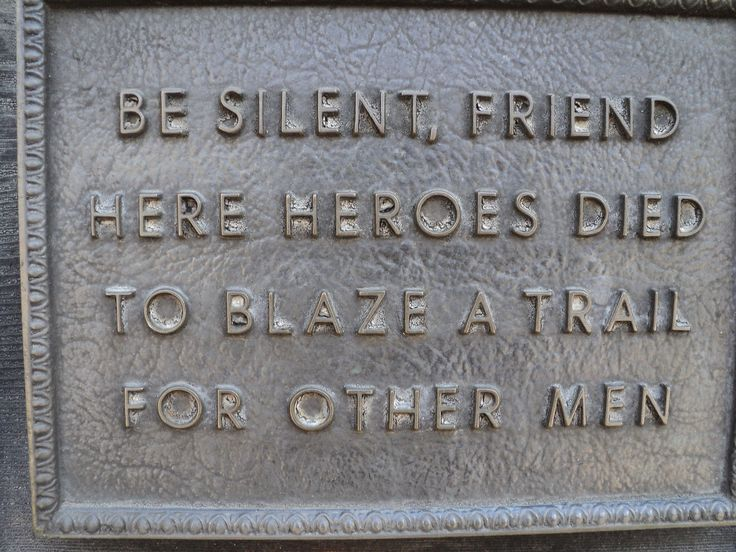 A plaque at the Alamo commorating the brave heros who gave their lives so Texas might live.