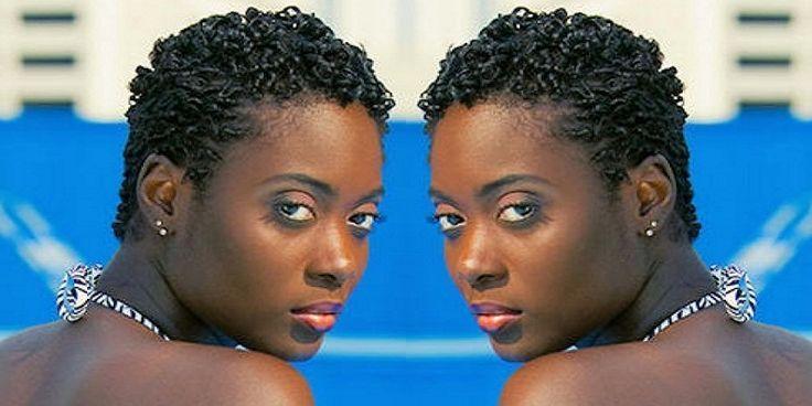 Short Natural Hairstyles For Black Women With Thin Hair Grow Long Hair Thin Hair Problems Hair Styles