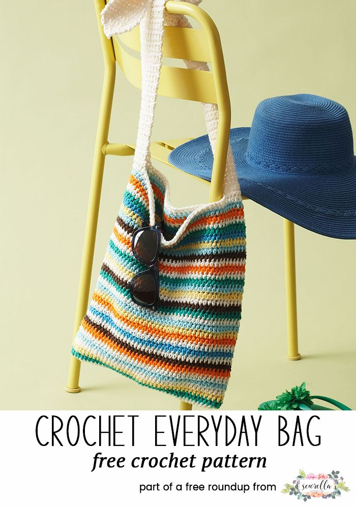 Crochet Bags And Totes For Spring Sewrella Pinterest Crocheted