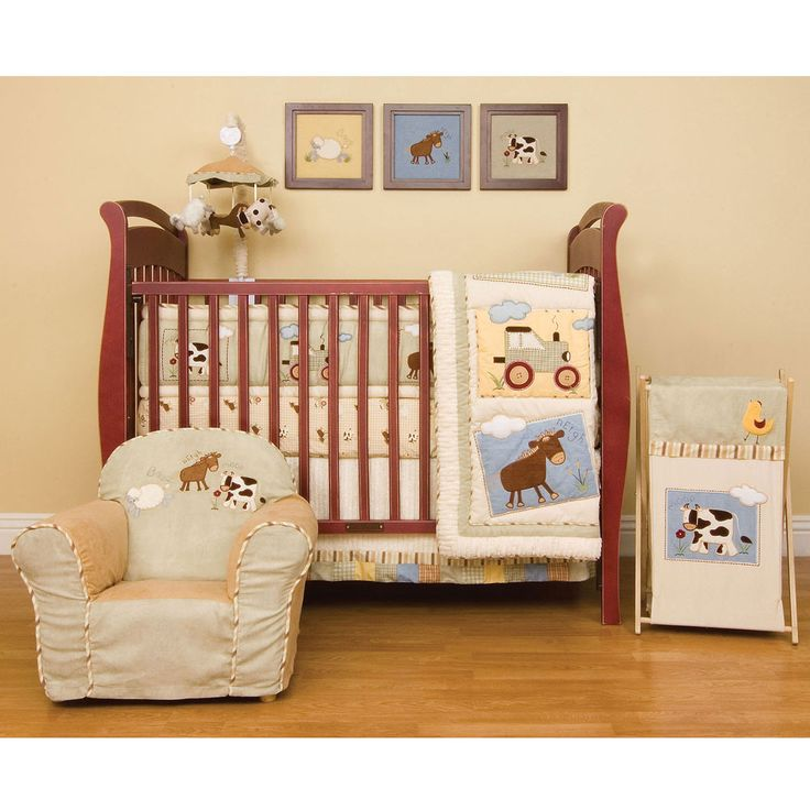 farm baby bedding crib sets baby bedding blankets and. Black Bedroom Furniture Sets. Home Design Ideas