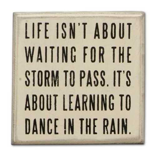 Find it at the Foundary - Dance in Rain - White Box Sign