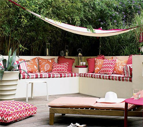 outdoor living… 5 elements to create your perfect outdoor space | Karen Haller | Blog | Karen Haller Colour & Design Consultancy is based in West London, UK, working with businesses and private clients on their branding, personal and interior colours & design, specialising in Applied Colour Psychology