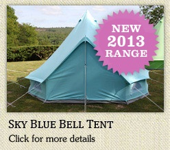 Pretty bell tents