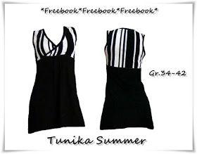 ninchenschaos: Freebooks; Tunika; Kleid; kostenloses Schnittmuster; Gr. 34 -42