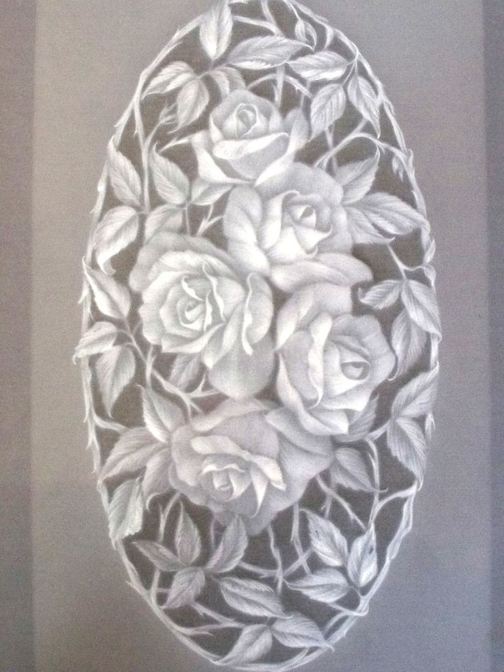 ROSES PATTERN SHEET BY DOROTHY M HOLNESS  A fabulous A4 embossing project from Dorothy Holness. Instructions and  A4 size pattern included (3pages)