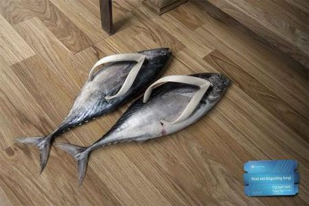 Flip flop; what a fish does when you get it in the boat