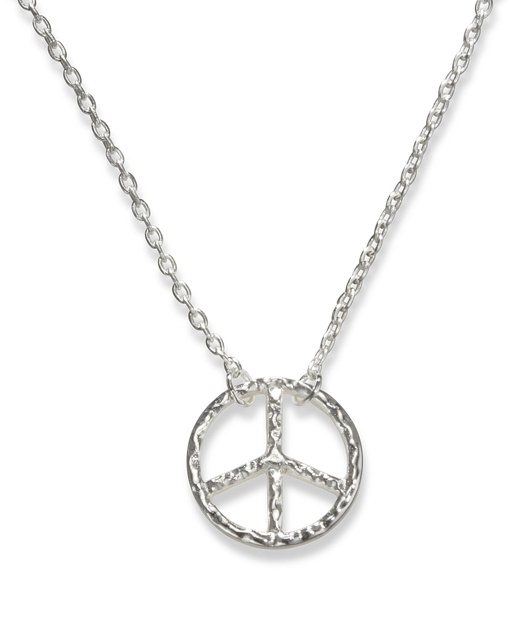 Hammered Peace Sign<3