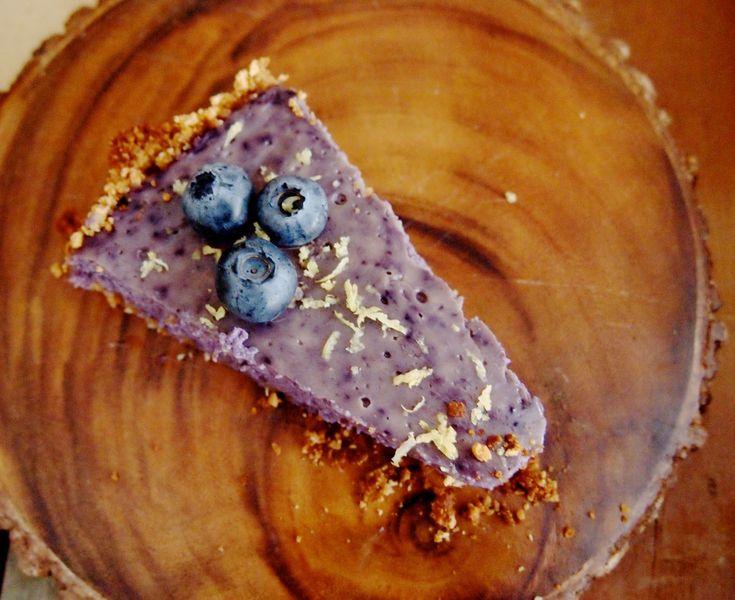Recept: taartje met blauwe bessen en citroen - De Groene Meisjes