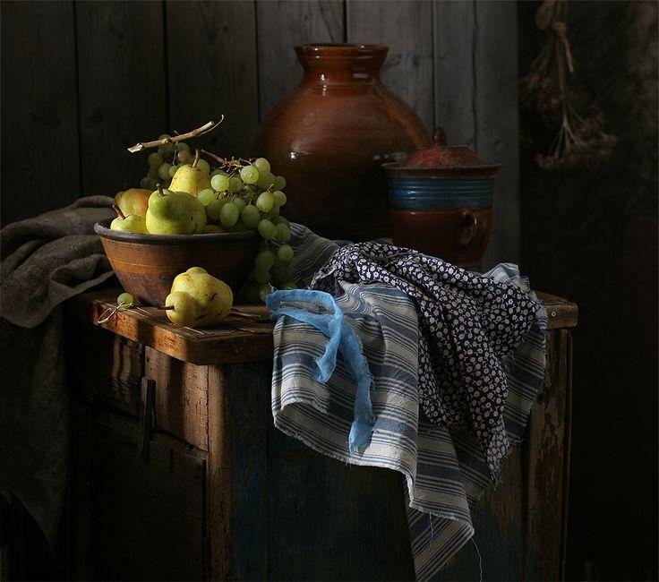 photo: Натюрмортс грушами.   photographer: Ира Быкова   WWW.PHOTODOM.COM