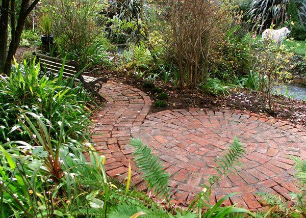 brick spiral plot ideasautumn gardengarden