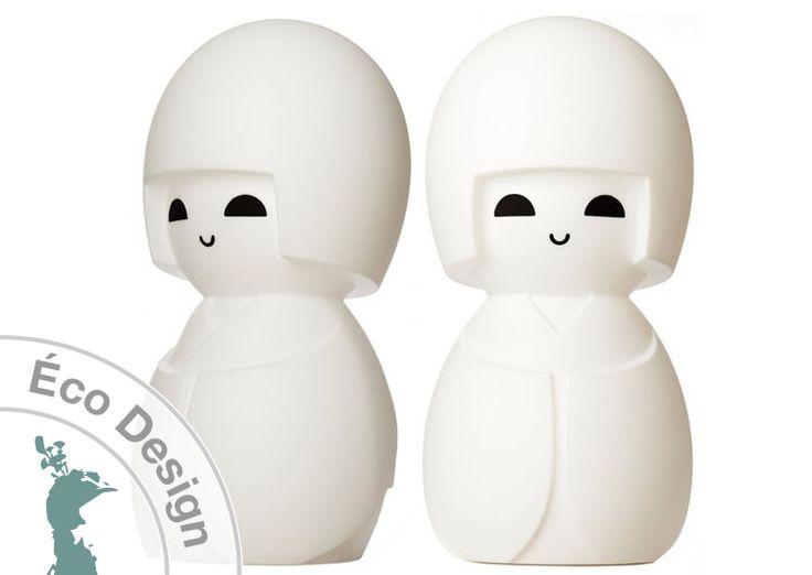 Lampe Kokeshi de Mr Maria- Livraison offerte - Lampe porte bonheur japonais…