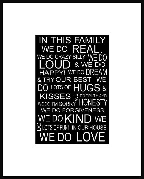 In this family...