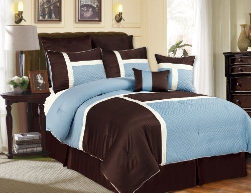 Modern Blue And Brown Bedroom 90 best teal and brown bedding images on pinterest | bedroom ideas