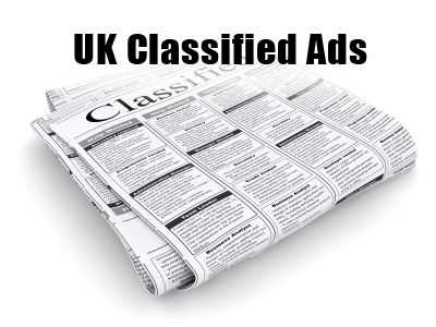 Classified Ads in London, UK.