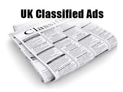 Classified Ads in London, UK.