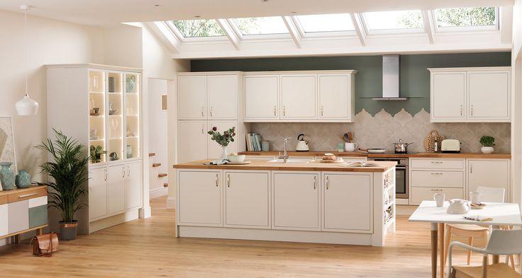 Newbury White #kitchen #whitekitchen #kitchendesign