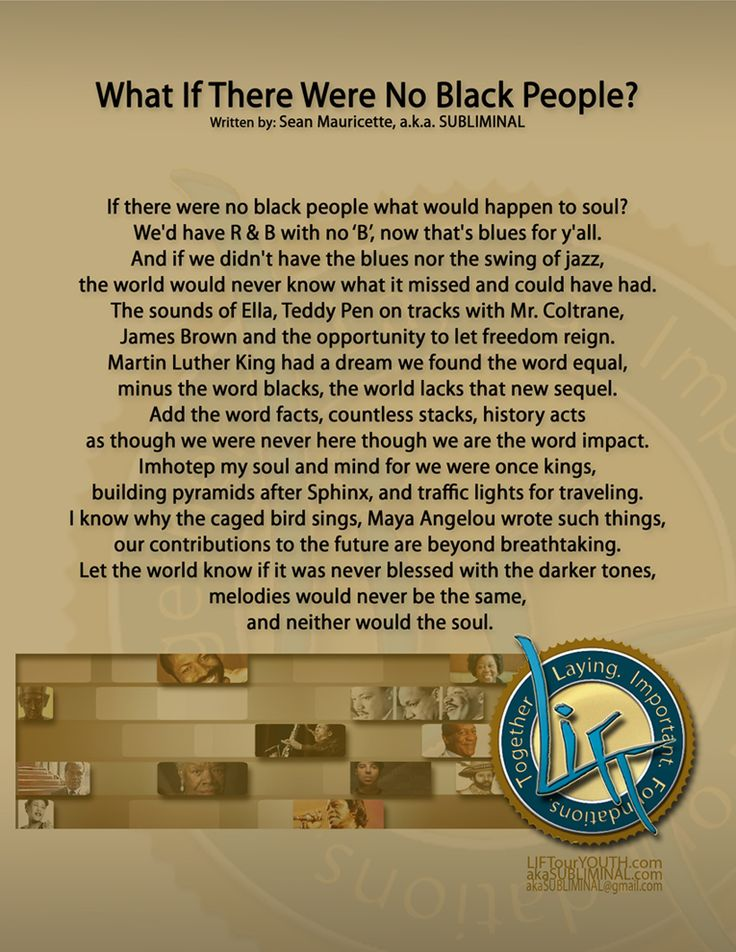 25+ best ideas about Black History Poems on Pinterest ...