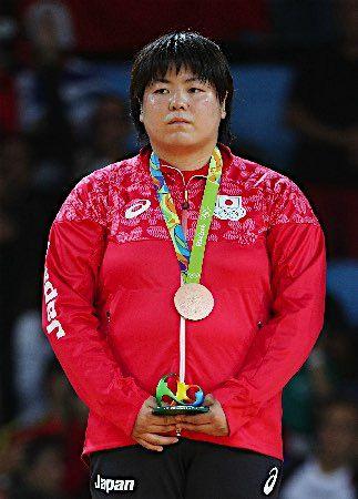 山部が銅メダル獲得 :フォトニュース - リオ五輪・パラリンピック 2016:時事ドットコム