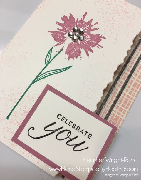 Hand Stamped By Heather Wright-Porto: Stampin' Up! Touches of Texture: Color…