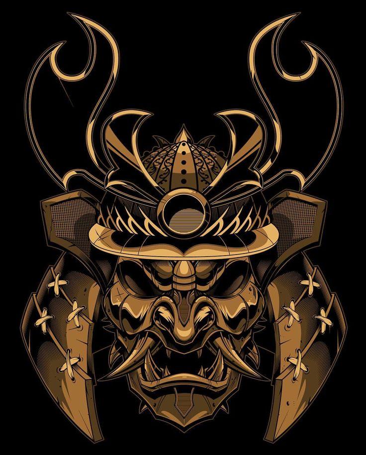 картинки символы самураев