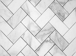 Herringbone marble for fam room backsplash #marble #marmor