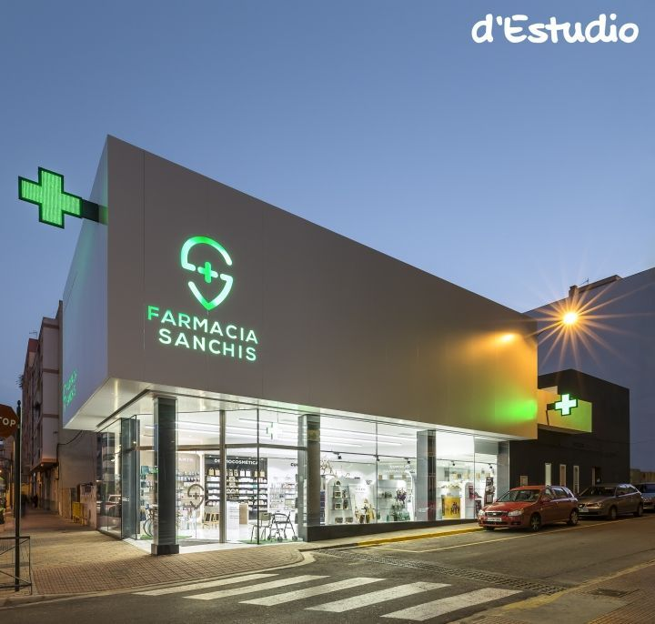 Farmacia Sanchis by d'Estudio, Ribarroja del Turia – Spain » Retail Design Blog More