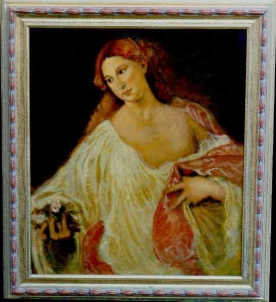 "Tiziano Vecellio ""Flora"", by Paolo Albanese."