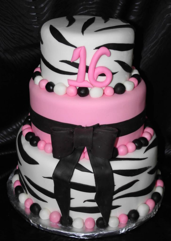 24 best Pink Birthday Cakes images on Pinterest Pink birthday