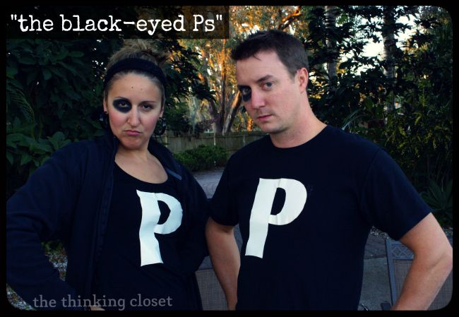 """The Black Eyed Ps"" - - Plus 20 MORE Punny Halloween Costume Ideas 