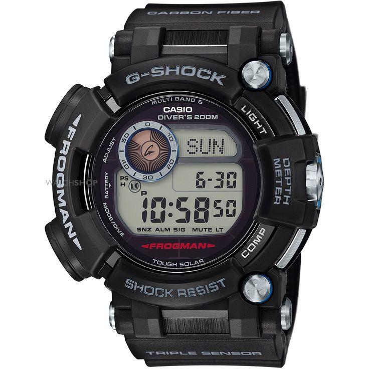 Mens Casio G-Shock Frogman Alarm Radio Controlled Watch GWF-D1000-1ER