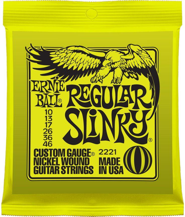 Ernie Ball 2221 Regular Slinky Nickel Wound gitaarsnaren kopen? Bestel Ernie Ball online. Goedkoop en voordelig. ✔ 19 winkels ✔ Laagste prijsgarantie ✔ Gratis verzending ✔ Groot assortiment